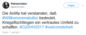 welcometohell-G20-Tweet